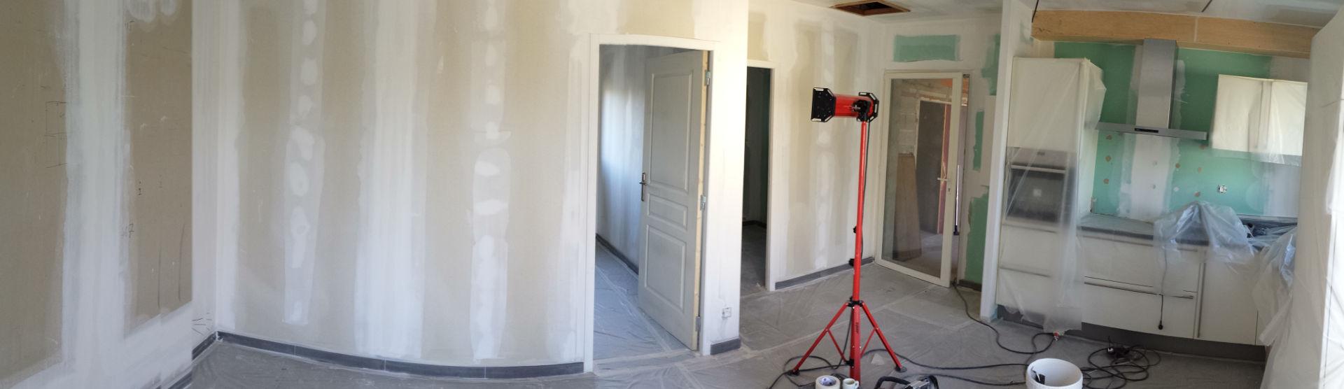 Peinture appartement neuf Avignon avant