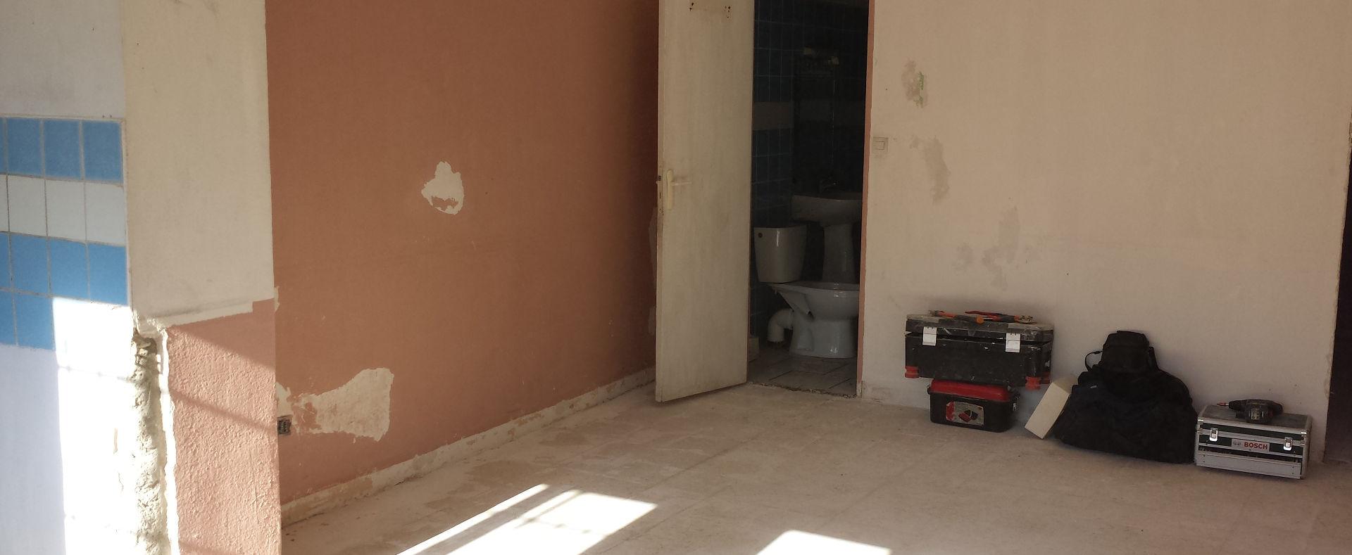 Rénovation appartement Avignon avant